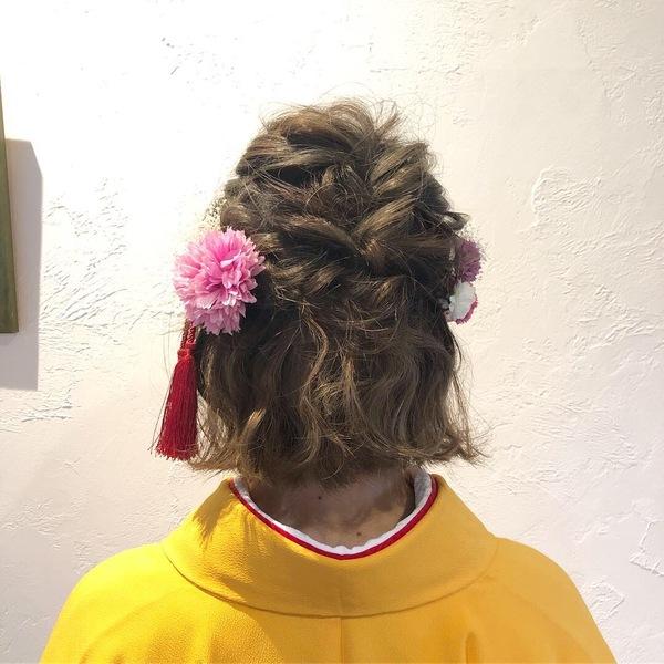 【今泉の美容室miroa】卒業式の袴に合わせたヘアメイク