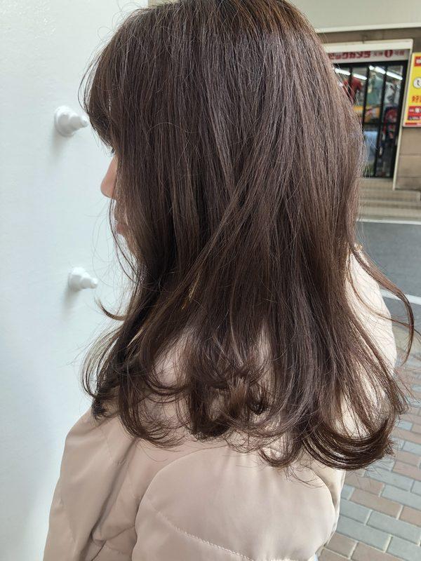 【今泉の美容室miroa】柔らかいブラウンカラー