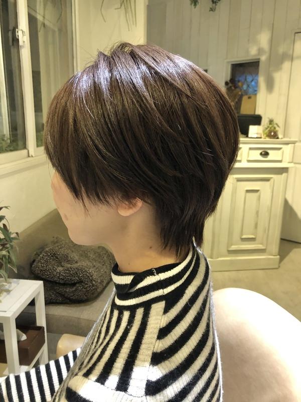 【今泉の美容室miroa】爽やかショートヘア♪