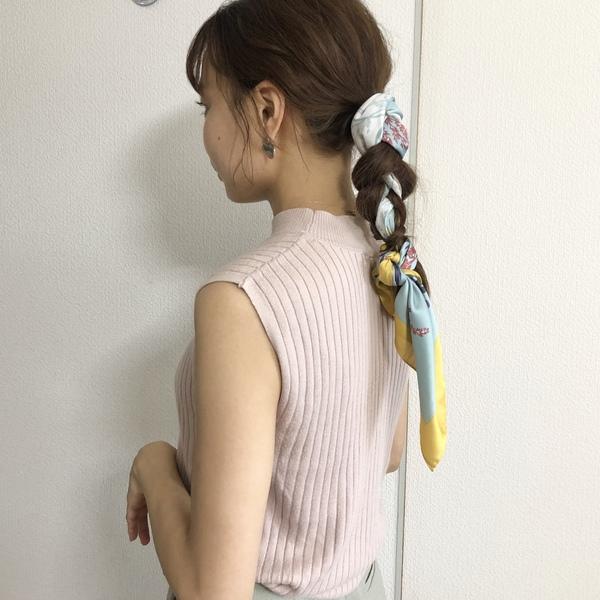 【今泉のプライベートサロンmiroa】スカーフで簡単セルフアレンジ🧣