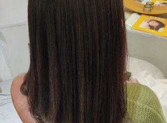 髪質改善で悩みも解決❤️スッキリサラサラスタイル🙂🌟🌟🌟【福岡今泉のプライベートサロンmiroa】