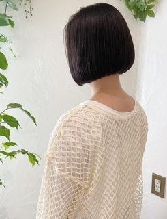 〜大人女性の黒髪コンパクトボブ〜