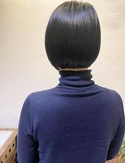 〜大人女性の黒髪ボブ〜