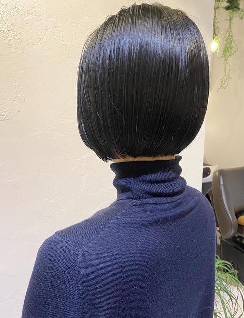 〜大人女性の黒髪ボブ〜のサムネイル