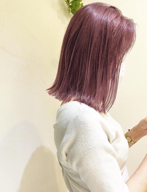〜大人女性のピンクアッシュラベンダー〜のサムネイル