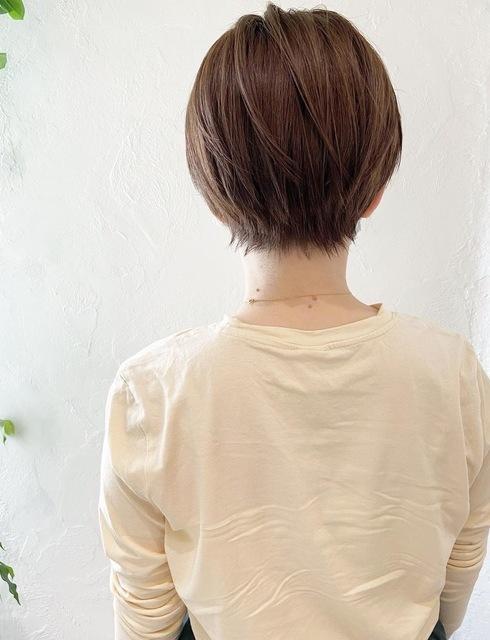 〜大人女性のマッシュショート〜のサムネイル